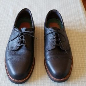 H.S.Trask Black Lace Up Oxford Shoes. Size: 11.5M